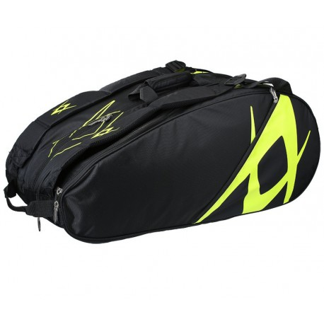 Volkl Team Tennis Black/Neon 9 Pack Bag