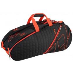 Volkl Tour Tennis Bags Black/Lava 6 Pack Bag