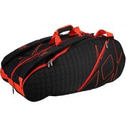 Volkl Tour Tennis Bags Black/Lava 9 Pack Bag